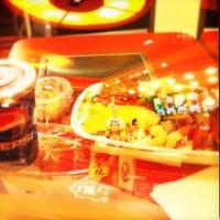 Photo taken at 吉野家 Yoshinoya by Justin L. on 10/11/2012