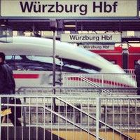 Photo taken at Würzburg Hauptbahnhof by Carsten S. on 11/20/2012