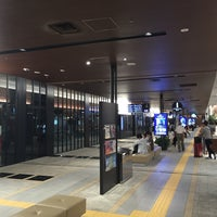 Photo taken at Nishitetsu Tenjin Expressway Bus Terminal by SATO on 7/14/2015