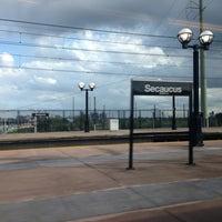 Photo taken at NJT - Frank R. Lautenberg Secaucus Junction Station by Maria Jesus V. on 7/3/2013