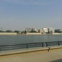 Photo taken at Sabarmati River Front by Krun G. on 10/9/2012