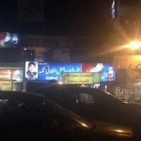 Photo taken at Khalis Afghani Tikka by Waqar R. on 12/4/2012
