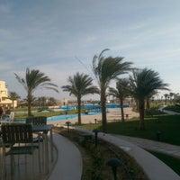 Photo taken at Mövenpick Resort Soma Bay by Ded M. on 11/5/2014