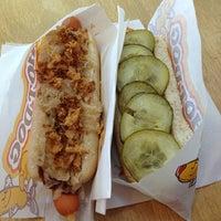 Das Foto wurde bei Hot Dog Soup von Carl am 8/25/2013 aufgenommen