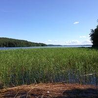 Photo taken at Höysniemi, Päijänteen Kansallispuisto by Ari R. on 7/7/2013