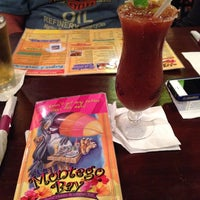 Photo taken at Montego Bay Seafood House And Oyster Bar by Candy F. on 4/30/2014