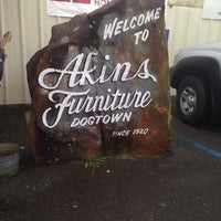 Merveilleux Photo Taken At Akins Furniture   Dogtown By Candy F. On 1/3/