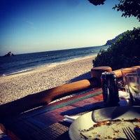Photo taken at Badauê Restaurante e Pizzaria by Monica on 5/13/2013