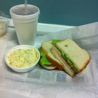 Photo taken at Deli on Main by Amber L. on 9/28/2012