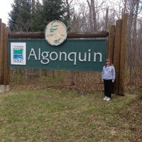 Photo taken at Algonquin Provincial Park - West Gate by Steve S. on 12/4/2016