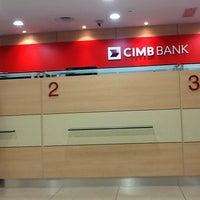 Photo taken at CIMB Bank by Adline on 1/3/2013