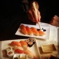 Photo taken at Tao Sushi Restaurant by Daniela B. on 10/20/2012