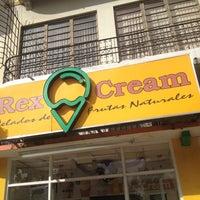 Photo taken at Rex Cream by Chago S. on 12/23/2013