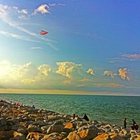 Photo taken at Pantai Cahaya Bulan (PCB) by Bent H. on 8/10/2013