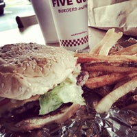 Photo taken at Five Guys by Allonease T. on 6/4/2013