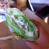 Photo taken at Which Wich Superior Sandwiches by Lilia on 10/14/2013