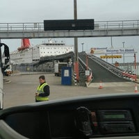 Photo taken at Fishguard Ferry Port by Austin C. on 12/24/2016