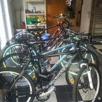Photo taken at bikeemotion by Monsieur M. on 2/23/2013