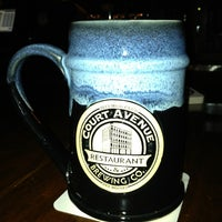 Photo taken at Court Avenue Restaurant & Brewing Company by Emilee R. on 1/5/2013