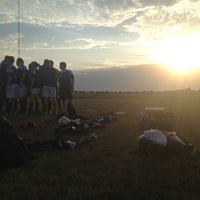 Photo taken at Spring Creek Soccer Complex by Emilee R. on 9/4/2013