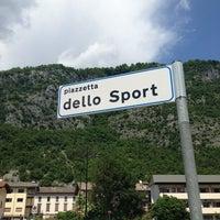 Photo taken at Piazzetta dello Sport by Mario B. on 6/5/2013