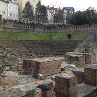 Photo taken at Teatro Romano by Mario B. on 3/5/2013