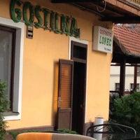 Photo taken at Gostilna Lovec by Mario B. on 9/27/2012