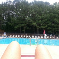 Photo taken at Poolside @ Wyngate Recreation Center by Deb I. on 5/29/2014