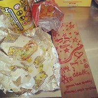 Photo taken at Which Wich? Superior Sandwiches by brenda renee r. on 8/25/2014