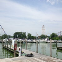 Photo taken at Cedar Point Marina by Andrew B. on 6/26/2013