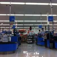 Photo taken at Walmart Supercenter by Bjørn on 10/18/2012