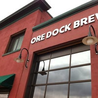 Photo taken at Ore Dock Brewing Company by Bjørn on 10/30/2012