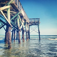 Photo taken at Isle of Palms Beach by Renee R. on 5/27/2013