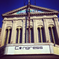 Photo taken at Congress Theater by Erik James A. on 10/9/2014