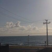 Photo taken at Pousada Maceió Praia by Renan V. on 10/4/2013