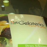 Photo taken at La Gelateria Iberia by Rhassan E. on 12/22/2012