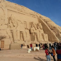 Photo taken at Temple of Ramses by Luwoh on 1/31/2013