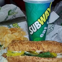 Photo taken at SUBWAY by Chet B. on 2/25/2013