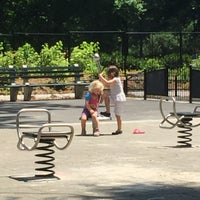 Photo taken at Central Park - Mariners' Gate Playground by Selene L. on 6/28/2017
