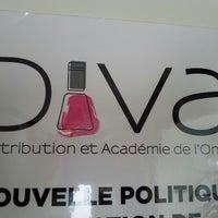 Photo taken at Diva Distribution Et Académie De L'ongle by Sam M. on 12/17/2013