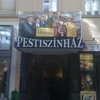 Photo taken at Pesti Színház by Sándor B. on 10/4/2012