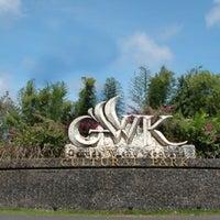 Photo taken at Garuda Wisnu Kencana (GWK) Cultural Park by Samuel on 10/3/2012