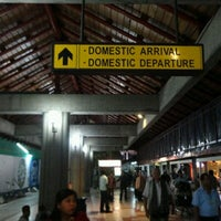 Photo taken at Domestic Terminal (DPS) by Samuel on 11/10/2012
