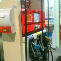 Photo taken at SPBU Pertamina by Samuel on 10/16/2012