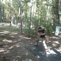 Photo taken at Marshall Street Pyramids Disc Golf Course by Zachary C. on 9/30/2013