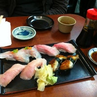 Photo taken at Geta Sushi by Ryan S. G. on 2/11/2012