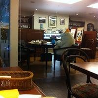 Photo taken at Cafe Tristan by Yoko U. on 5/14/2012