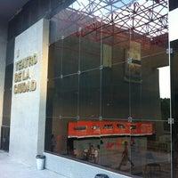 Photo taken at Teatro de la Ciudad by Ever V. on 9/4/2012