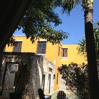 Photo taken at Hacienda Puerta Campeche by Fer V. on 2/25/2013