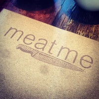 Photo taken at Meat Me by Nathalia S. on 10/13/2013